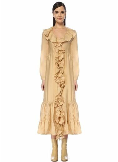 Ghospell Elbise Krem